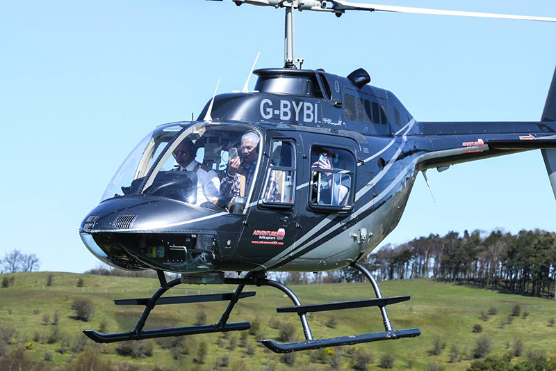 20 KM Helicopter Themed Flight Image