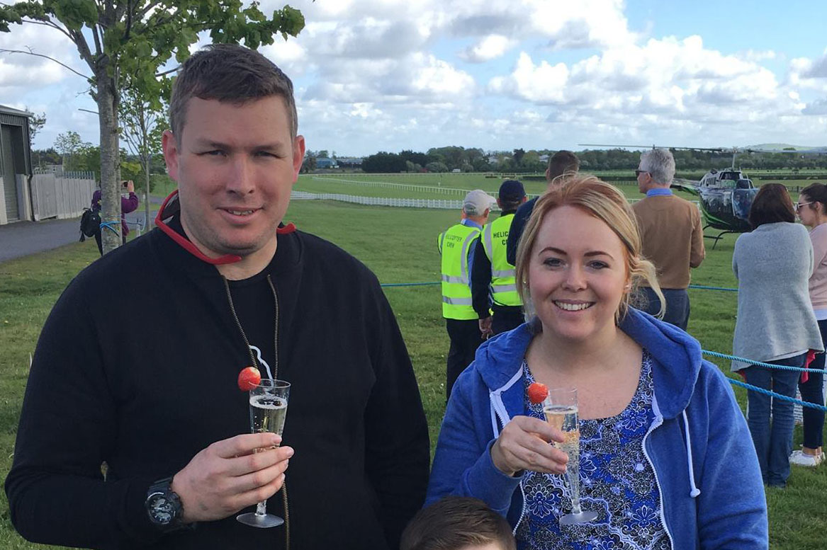 10 KM Helicopter Buzz with Chocolates and Bubbly Image