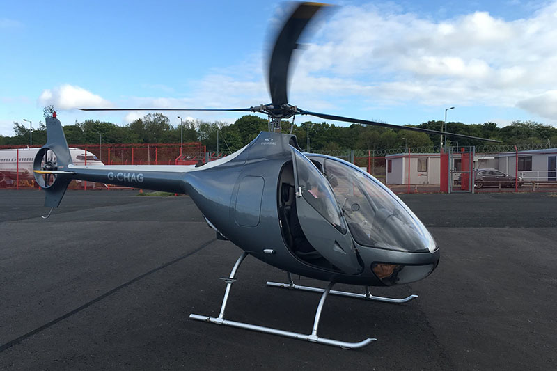 30 Minute Helicopter Trial Flying Lesson in a Guimbal Cabri G2 Image