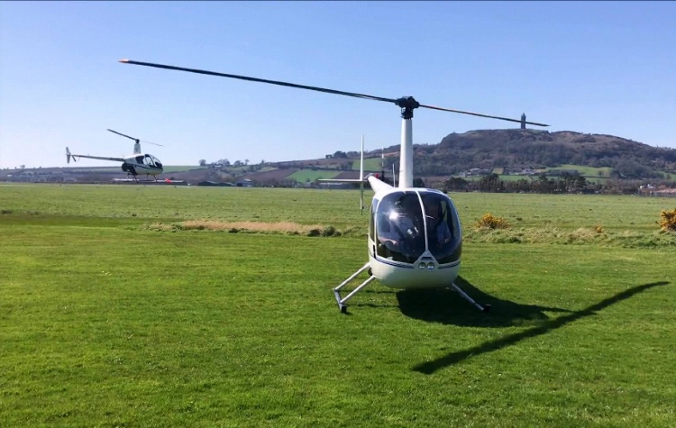 Helicopter Lessons Co Down
