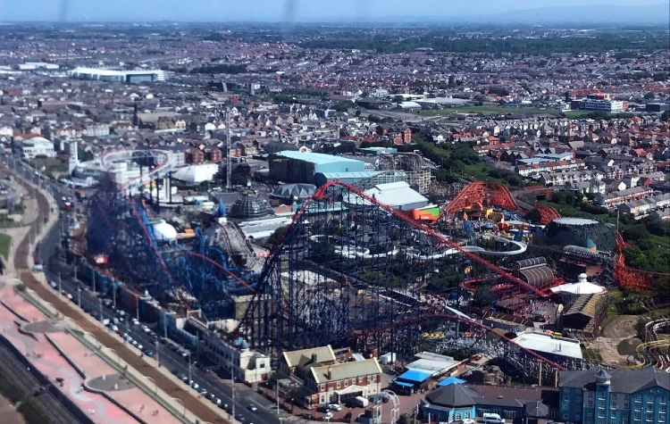 Helicopter Flights Blackpool