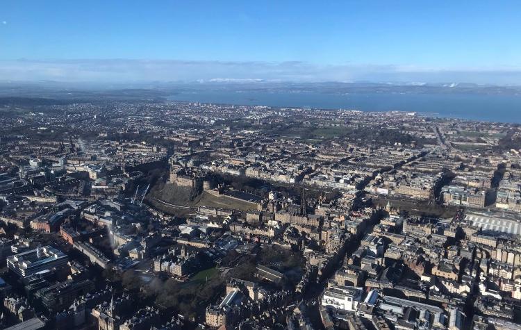 Helicopter Flights Edinburgh