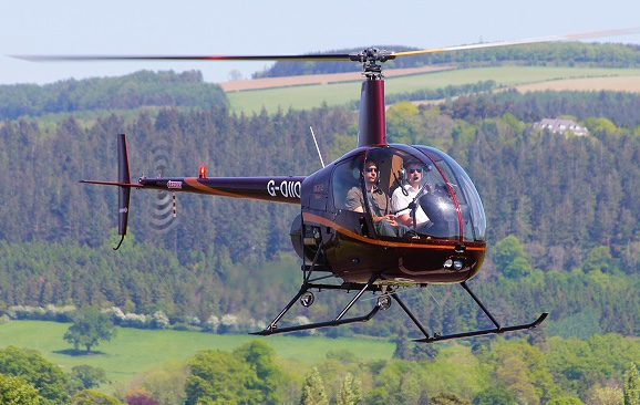 Helicopter Lessons Powys