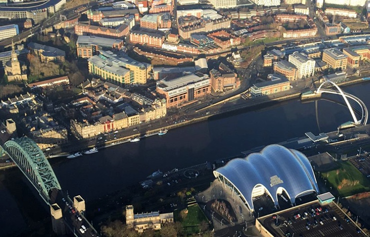 Ultimate Tyne and Wear Helicopter Tour