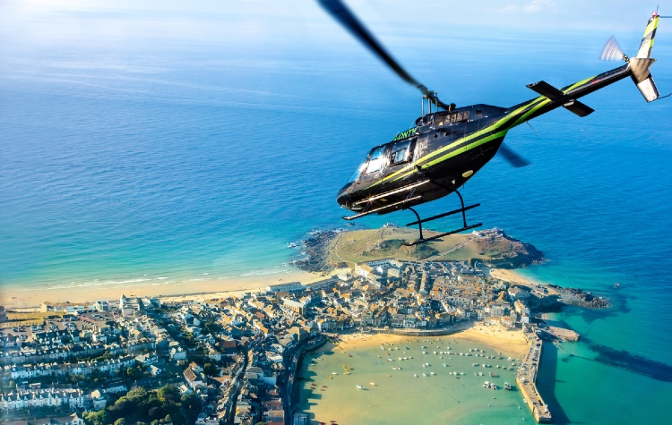 Helicopter Flights Cornwall