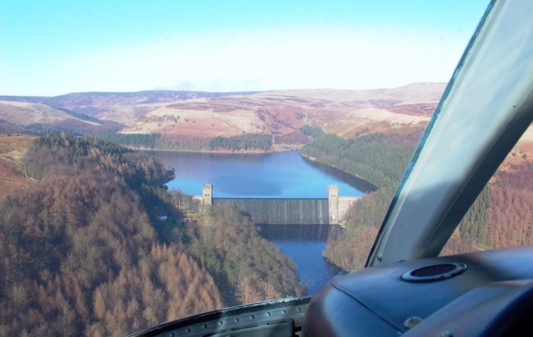 Ultimate Derbyshire Helicopter Tour