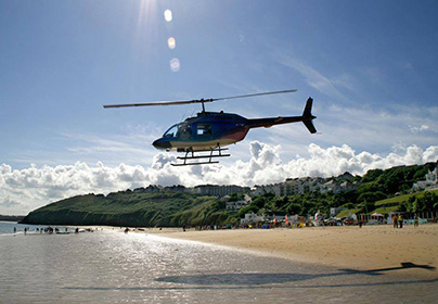 St Ives Bay Discovery Day & Helicopter Tour
