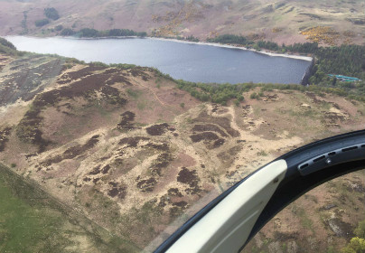Dambusters Helicopter Tour with Cream Tea