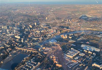 25 Mile UK City Helicopter Tours