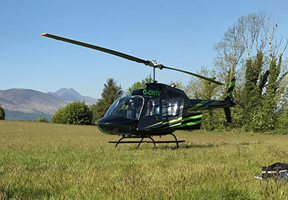 6 Mile Blue Skies Helicopter Flight with FREE Bubbly
