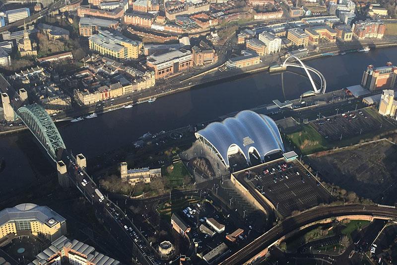 15 Min Newcastle City Tour Pleasure Flight Image