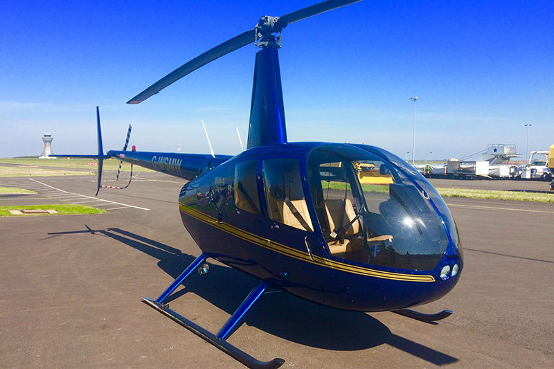 30 Minute Helicopter Trial Flying Lesson in a Robinson R44 (4 Seater) Image