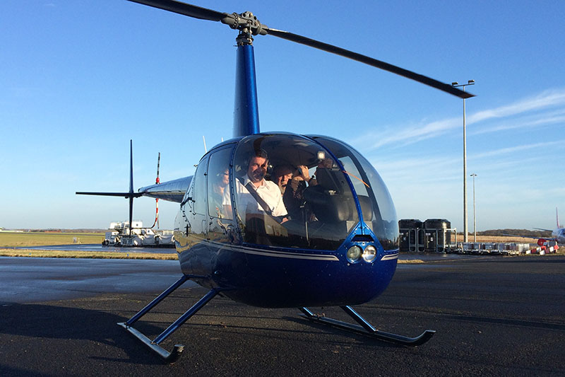 60 Minute Helicopter Trial Flying Lesson in a Robinson R44 (4 Seater) Image
