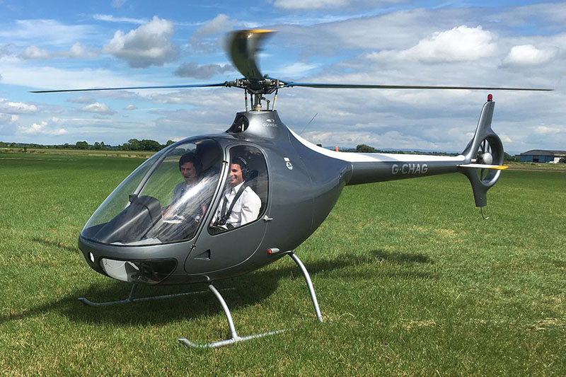 20 Minute Helicopter Trial Flying Lesson in a Guimbal Cabri G2 Image