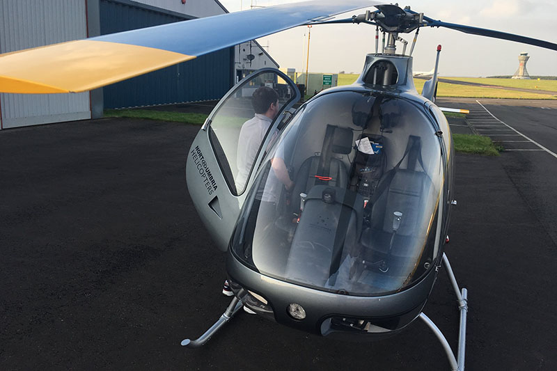 40 Minute Helicopter Trial Flying Lesson in a Guimbal Cabri G2 Image