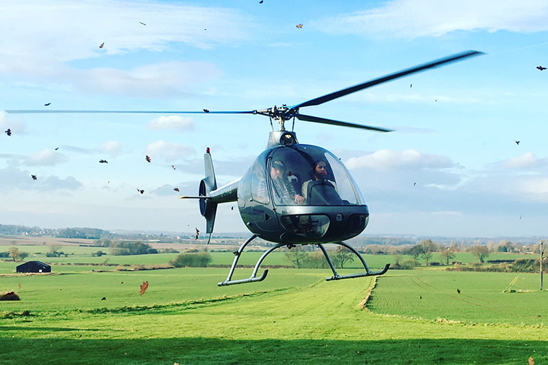 15 Minute Helicopter Trial Flying Lesson in a Guimbal Cabri G2 Image