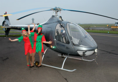 Fly with Santa from Newcastle Airport