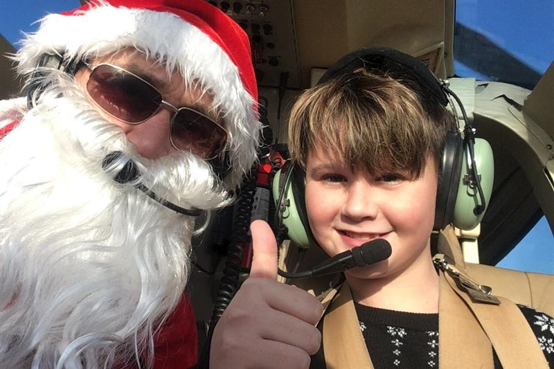 The Ultimate Christmas Flight with Santa Image