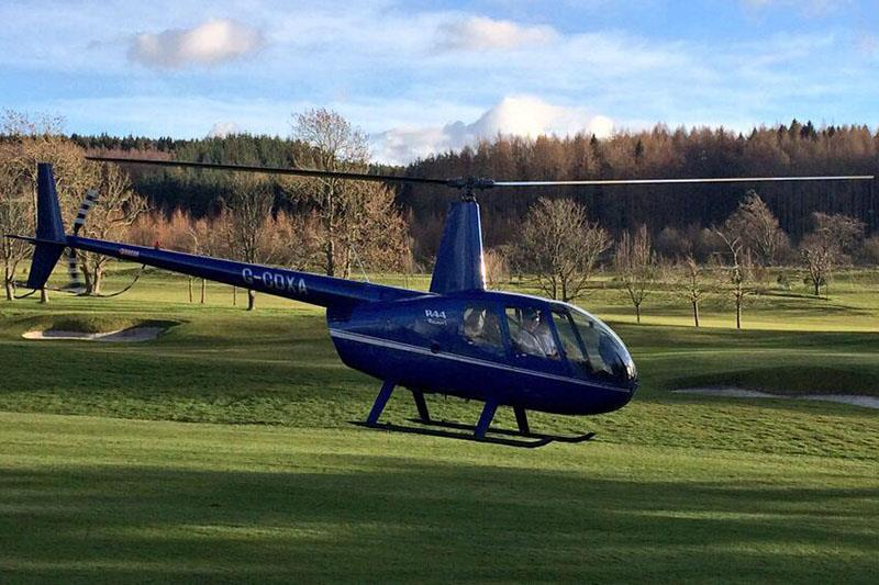 20 Minute Helicopter Trial Flying Lesson in a Robinson R44 (4 Seater) Image
