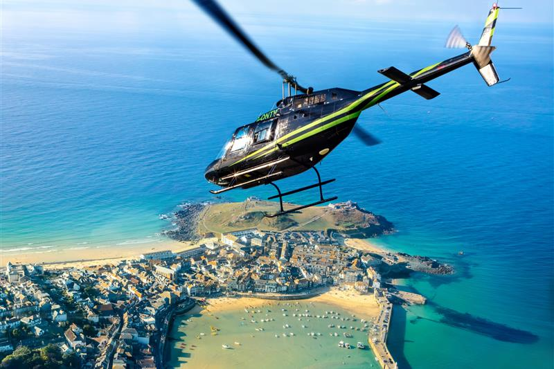 Cornwall Land, Sea & Air Adventure Package Image