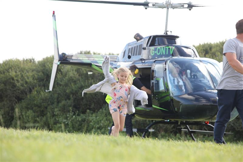 10 km Helicopter Buzz Flight with Souvenir Photo Image