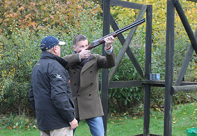 Clay Shooting with Seasonal Refreshments