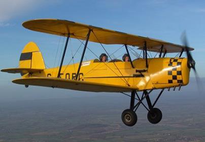 15 Minute Bi-Plane Pilot Lesson