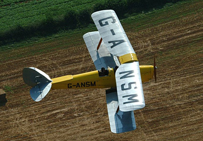 20 Minute Bi-Plane Pilot Lesson
