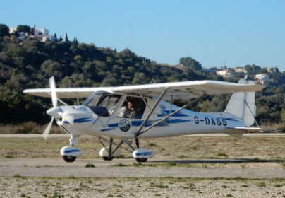 60 Minute Microlight Flying Lesson